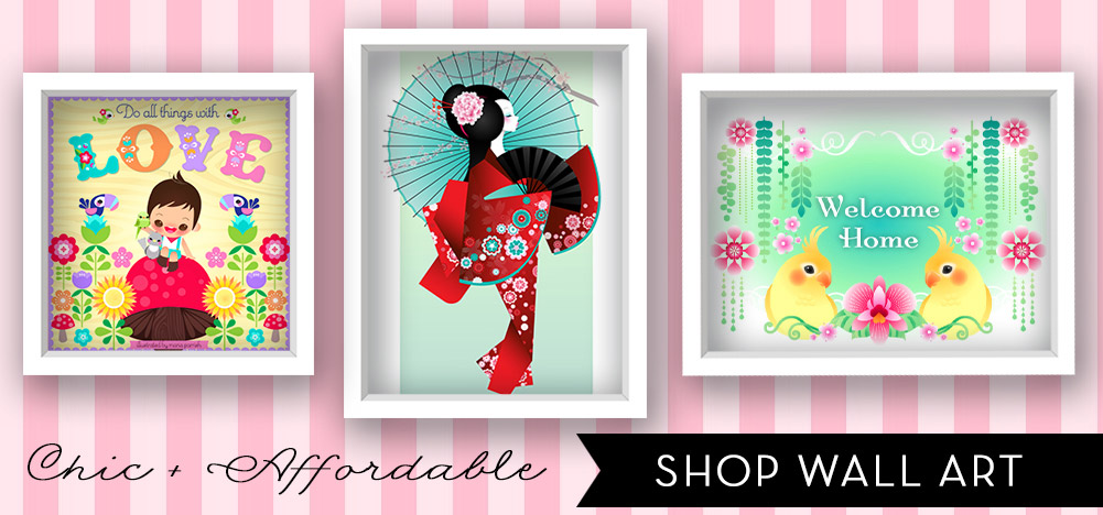 Chic & Affordable - Shop Wall Art